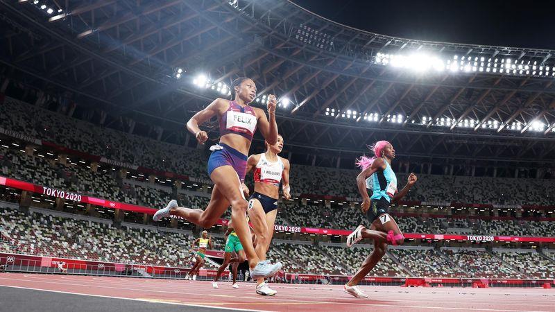 Miller intouchable, Felix et son finish de feu : la dernière ligne droite du 400m en vidéo
