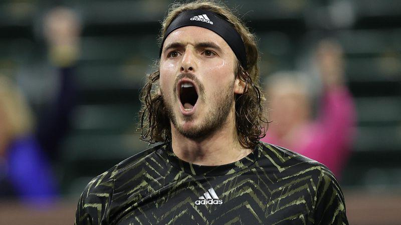 Stefanos Tsitsipas, în sferturi la Indian Wells, după un meci de poveste cu Alex de Minaur