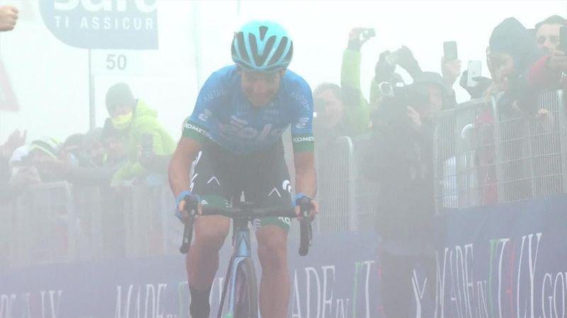 Тяжелейший 14-й этап «Джиро д'Италия» в горах – дух захватывает!