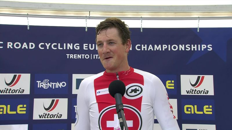 'I'm really happy to win' - Kung retains European time trial championship