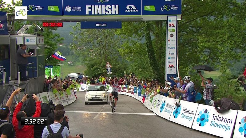 Ronde van Slovenië| Tadej Pogacar wint met overmacht tweede etappe
