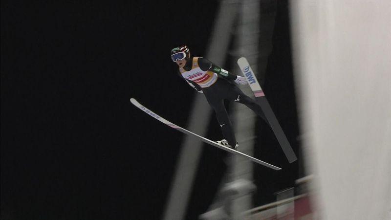 Ryoyu Kobayashi takes lead with stylish first jump