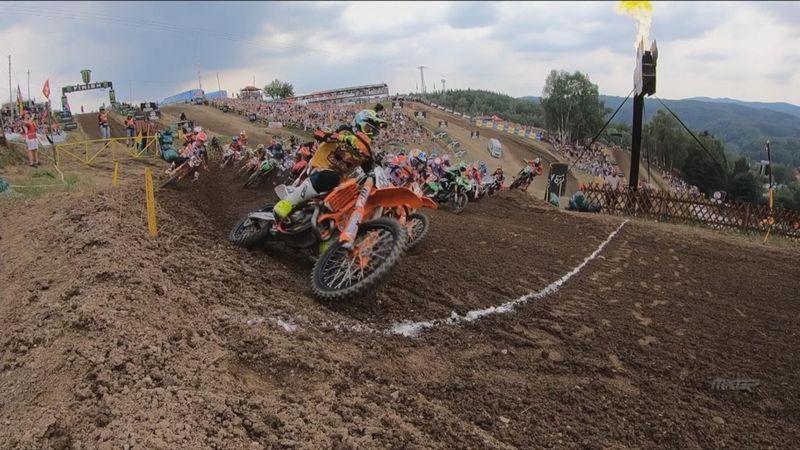MXGP: hoogtepunten race 1 GP Tsjechië