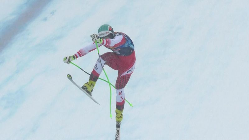 'How many lives does this cat have!' - Kriechmayr remarkably avoids crash in Kitzbühel
