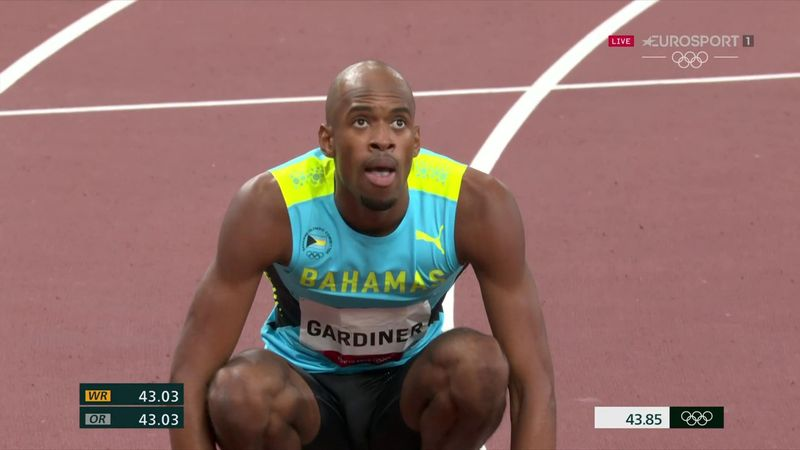 'He's supreme!' - Gardiner of Bahamas wins 400m gold to add to world title