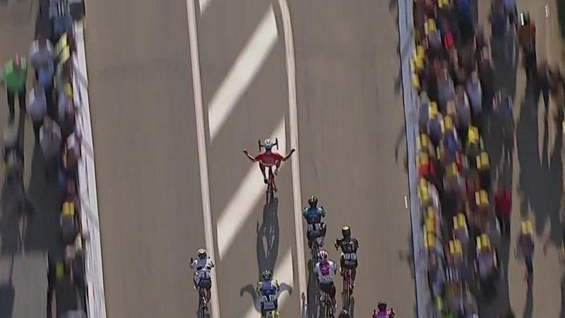 Tour de l'Ain: Hugo Hofstetter claims Stage 1