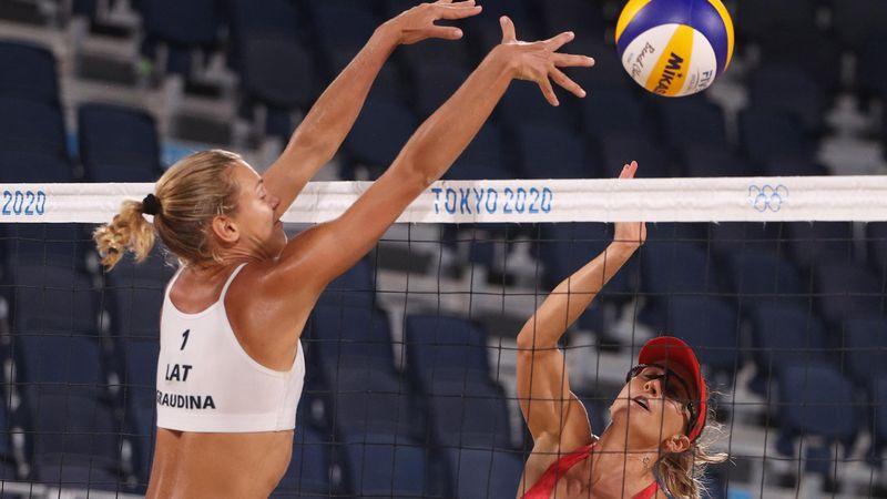 Tokio 2020 - Latvia - Canada - Beach Volleyball – Olympische hoogtepunten