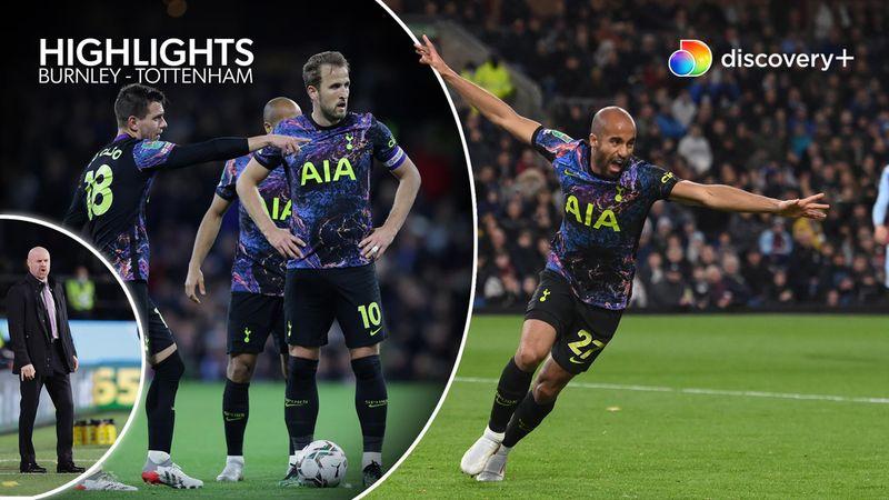 Highlights: Spilleglade Lucas Moura sikrede Tottenham avancement mod ufarlige Burnley