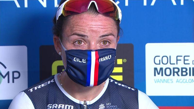 """Audrey Cordon-Ragot in lacrime dopo la vittoria: """"Bisognava avere testa fredda e cuore caldo"""""""