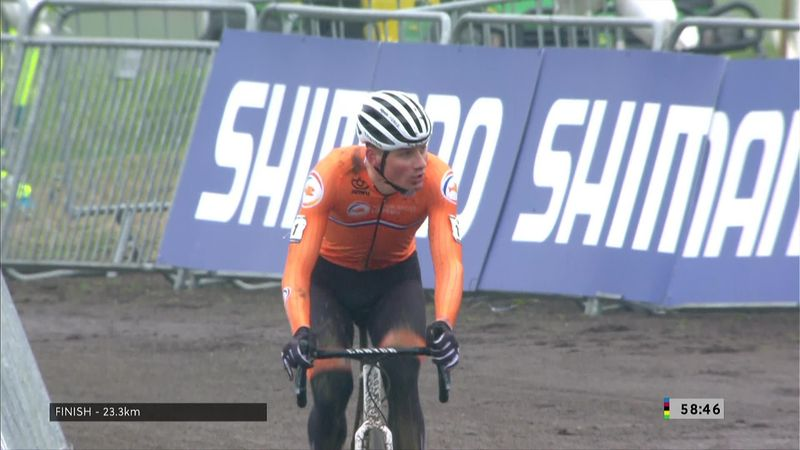 'Phenomenal' - Van der Poel storms to Cyclo-cross World Championships victory