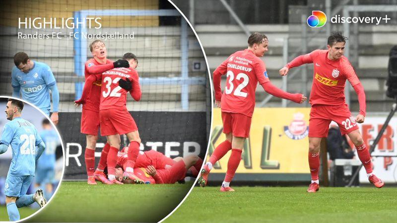 Highlights: FCN fortsætter stimen med sejr i vanvittigt offensivt festfyrværkeri i Randers