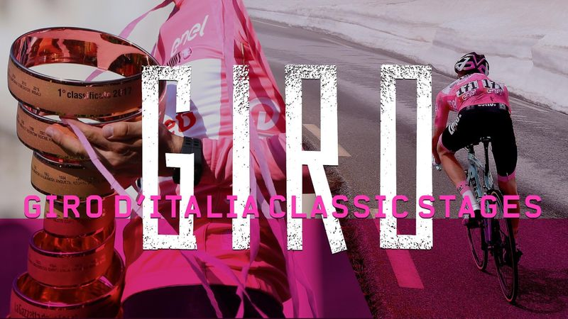 Giro-Classics: Die besten Etappen täglich bei Eurosport