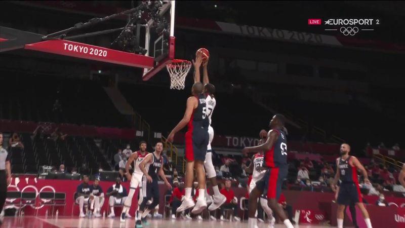 Jocurile Olimpice: Slam dunk al lui Kevin Durant în finala cu Franța