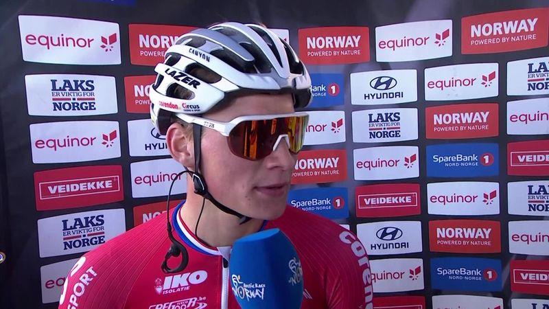 Mathieu van der Poel na prachtige overwinning: 'We gaan zien wat de komende dagen brengen.'
