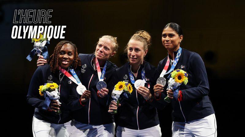 """Ysaora Thibus : """"Je suis très privilégiée d'être médaillée olympique"""""""