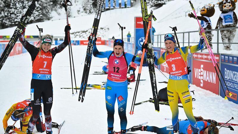 Antholz | Hoogtepunten 12,5km Massastart Vrouwen