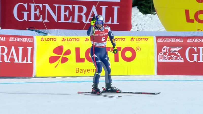 Dominik Paris, victorie superbă la Garmisch, la fix un an de la accidentarea de la Kitzbuhel