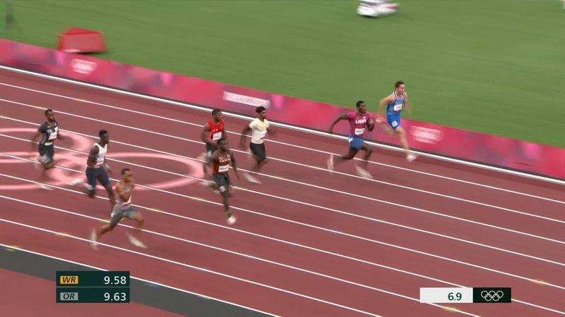 Tokyo 2020: De series van de 100 meter sprint (mannen)