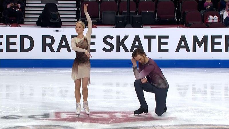 ¡Majestuosos! Tarasova y Morozov apabullan con un programa corto intachable