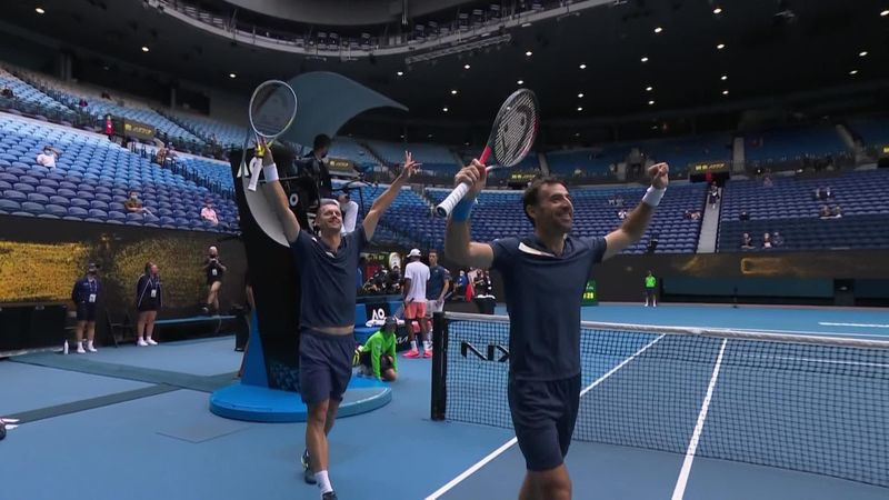'Wonderful' - Dodig and Polasek win men's doubles title