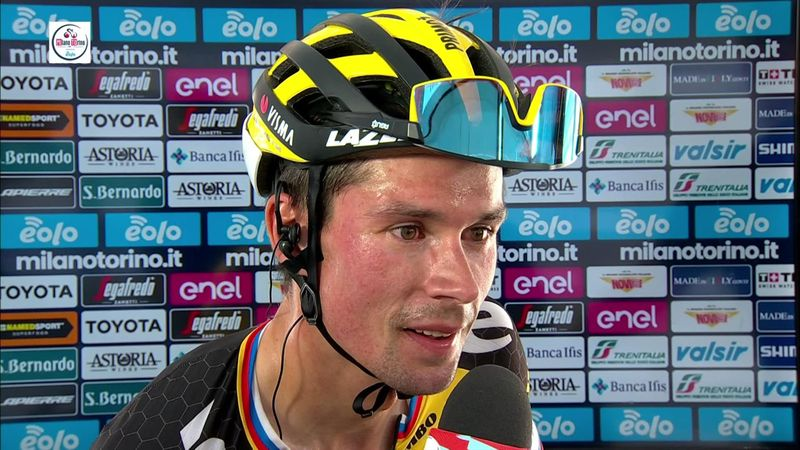 Roglic: I am super happy with the whole team