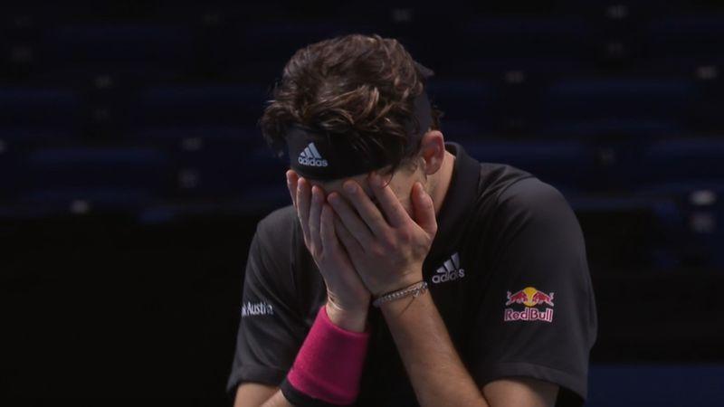 Höjdpunkter: Djokovic - Thiem