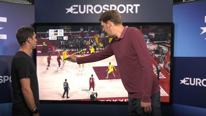 """Jagla erklärt Mischa Zverev die Basketballwelt: """"Duschen ist gefährlich"""""""