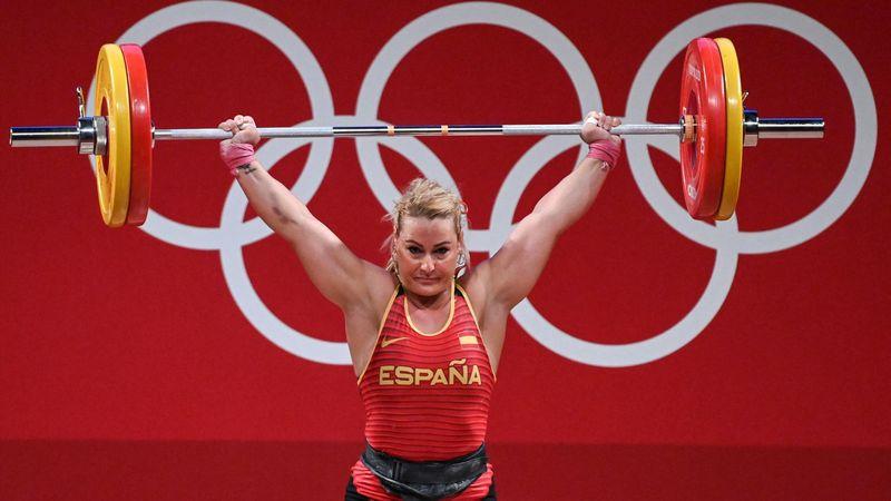 Halterofilia | Lydia Valentín, lanzada a por la final: 103kg y primera posición