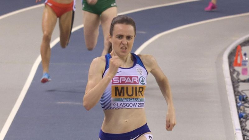 EK Indoor | Muir wint na 3000 meter ook goud op 1500 meter