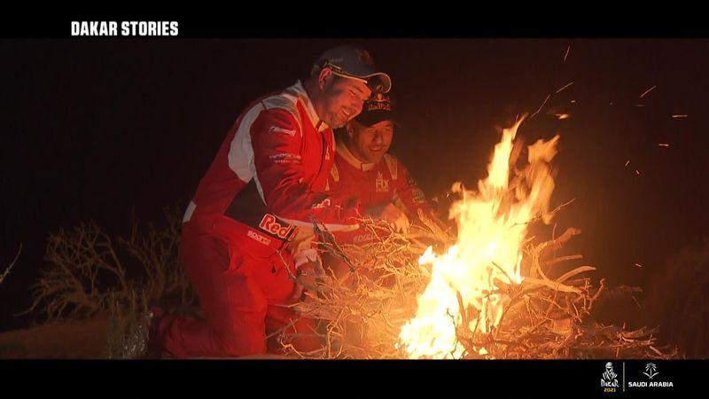 Loeb et Elena, des galériens embarqués dans la nuit