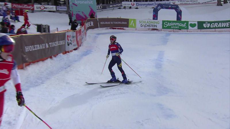 Sandra Naeslund regresa a la Copa del Mundo con victoria en Reiteralm