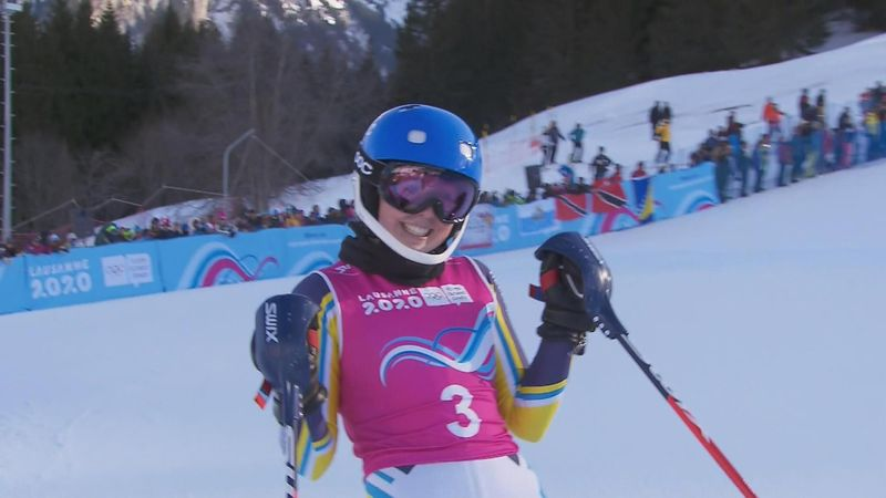 Emma Sahlin claims gold at Youth Olympic Games