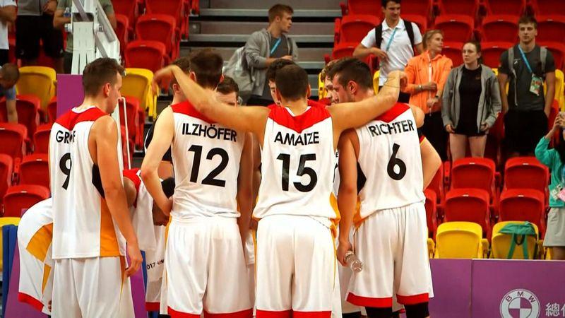 FISU Athlete Stories: Germany's basketball hopefuls
