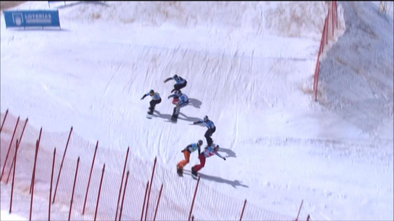 Snowboard cross - World Championship Sierra Nevada - Men final
