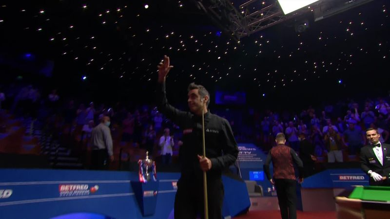 Ronnie O'Sullivan s'adjuge son 6e titre de champion du monde