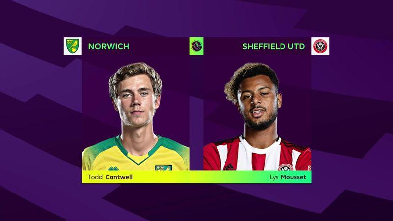 ePremier League: Norwich - Sheffield United