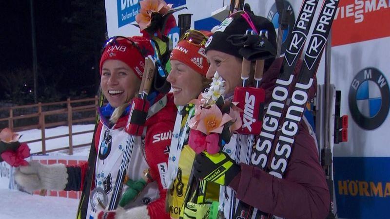 Dahlmeier claims eighth win of season in PyeongChang sprint