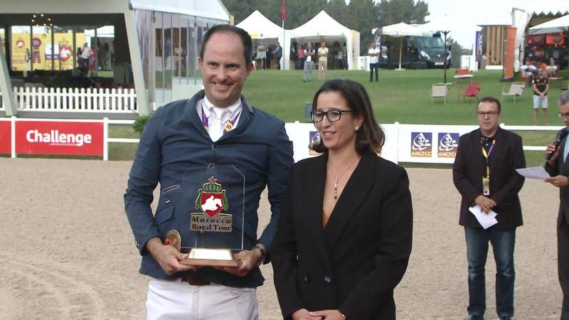 Equestrian - Morocco Royal Tour: Bernardo Alves win CSI 4 Rabat