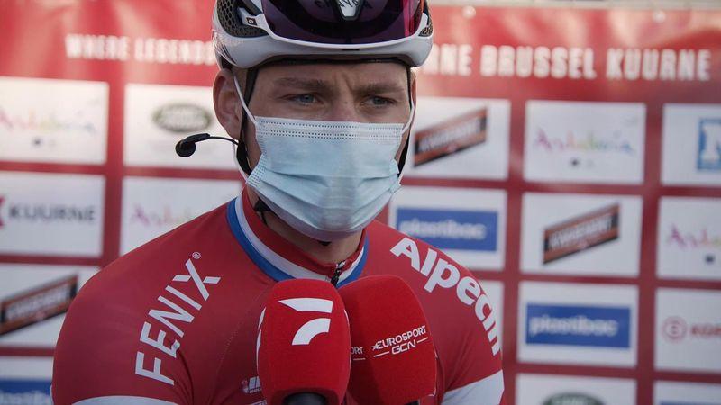 'We almost managed it!' - Van der Poel on valiant ride