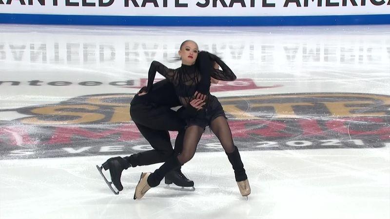 Дерзкий блюз российских танцоров зажег американские трибуны