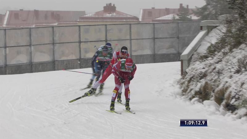Norway men take relay to secure double