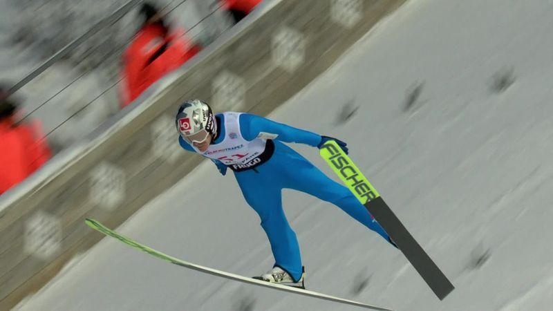 Robert Johansson, che salto: vince le qualificazioni