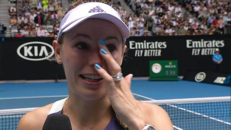"""Wozniacki nach Karriereende gerührt: """"Normalerweise weine ich nicht"""""""
