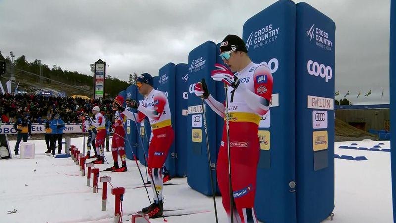 Esquí de fondo, Copa del Mundo: Golberg y Valnes confirman el poderío noruego en Falun