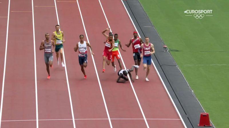 Atletismo | ¡Fuera por una centésima! Un tropiezo perjudica a Saúl Ordóñez