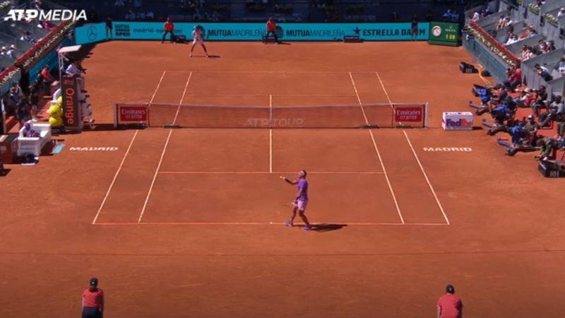 Highlights: Nadal beats Popyrin to reach Madrid quarters