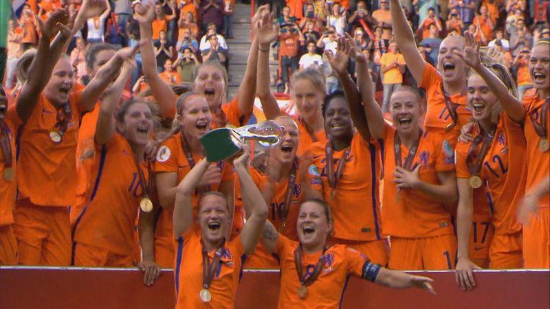 2017 Kadınlar Avrupa Futbol Şampiyonası: Hollanda - Danimarka (Özet)