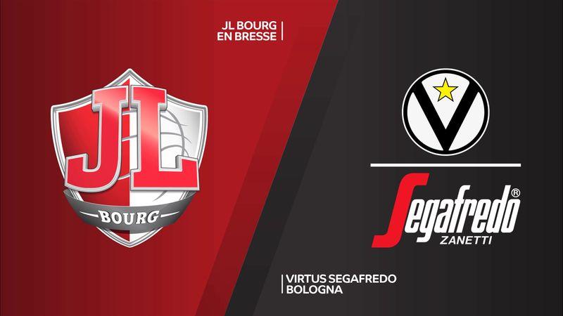 Highlights: Bourg-Virtus Bologna 87-99