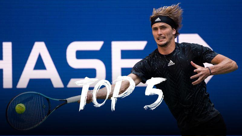 US Open  Gün #10 - Top 5