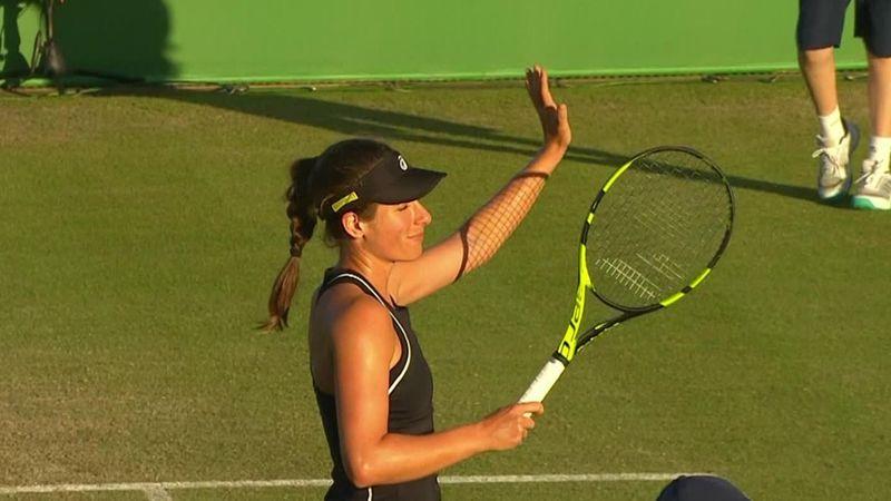 WTA Nottingham: Konta regola 6-2, 6-3 Vekic e va in finale, gli highlights